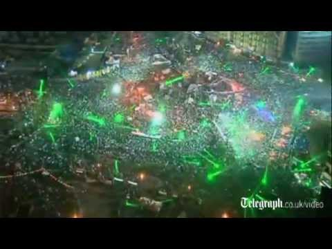 Egypt : Tens of thousands at Tahrir Square protests 07 27 2013