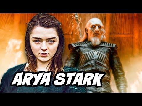 Game Of Thrones Season 8 Arya Stark Valyrian Steel Dagger
