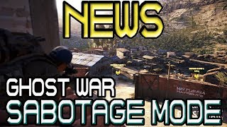 News! Sabotage Mode 🞔 Ghost War 🞔 No Commentary 🞔 Ghost Recon Wildlands