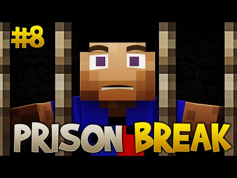 Minecraft PRISON BREAK #8 with Vikkstar123 (Minecraft 1.8 Prisons Jailbreak Seas