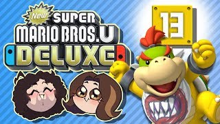 Super Mario Bros U Deluxe: Underwater Battle - PART 13 - Game Grumps