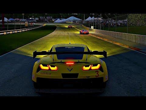 Project CARS 2 - Gameplay Chevrolet Corvette C7.R @ Road America [4K 60FPS ULTRA]