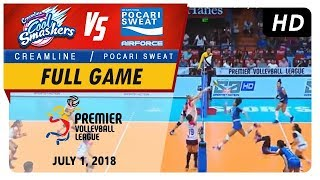 PVL RC Season 2 - WD: Cool Smashers vs. Air Force Lady Warriors | Full Game | 1st Set | July 1, 2018