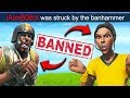 *2 HACKERS* GET BANNED LIVE!!   Fortnite Funny Fails And WTF Moments! #564