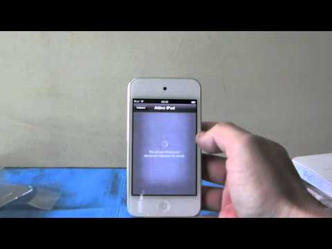 Nuovo iPod touch Bianco: Unboxing e prima accensione - AppVideoReview