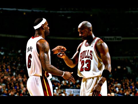 LeBron James & Michael Jordan -