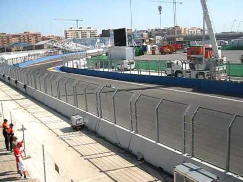 FORMULA 1: Brawn, Force India, McLaren y Toyota (Valencia Street Circuit) [2009-08-22]
