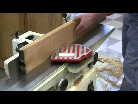 Planing rough-sawn lumber with a jointer and planer