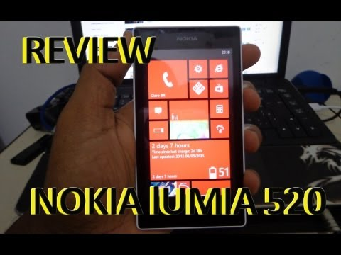 Nokia Lumia 520 Review PORTUGUÊS