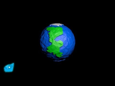 Earth Model Cinema 4d Poly Earth in Cinema 4d