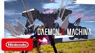 DAEMON X MACHINA - Launch Trailer - Nintendo Switch