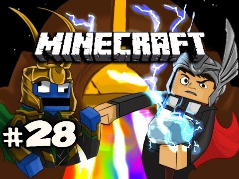 Minecraft: Asgard Adventures w/Nova & Kootra Ep.28 - QUEST FOR SAND