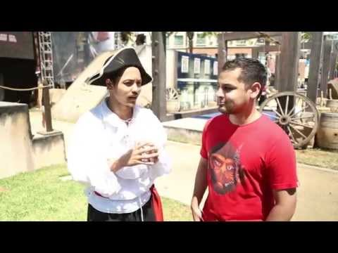 Lui Calibre Running the Assassin's Creed Experience (Day 1 Comic Con 2014)