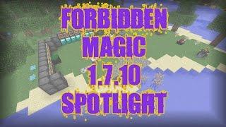 Forbidden Magic 1.7.10 :: Mod Spotlight | Tutorial | Thing!