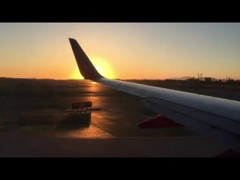 Southwest Airlines Sunset Takeoff from LAX