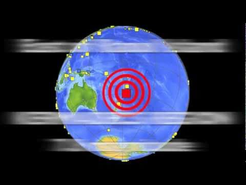 LARGE EARTH QUAKE Kermadecs 7.8 magnitude ..07/07/2011