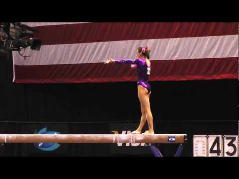 Amanda Jetter -- Balance Beam -- 2012 Visa Championships -- Sr. Women -- Day 2