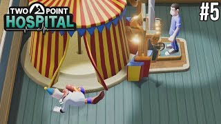 CLOWNS VALLEN OM, HILARISCH - Two Point Hospital #5