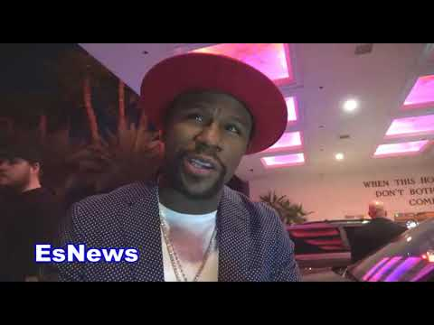 Floyd Mayweather Reveals What He Told Errol Spence Jr EsNews Boxing