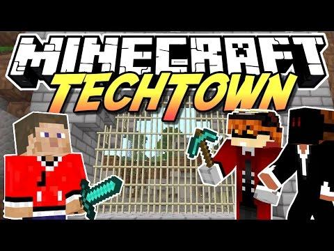 Minecraft TechTown - Mittelalter Tor #54 - auf gamiano.de