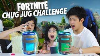Fortnite Chug Jug Challenge | Ranz and Niana