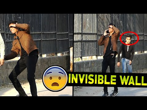 Invisible Wall Prank  | First Time in India | Funny Pranks Pranks in India