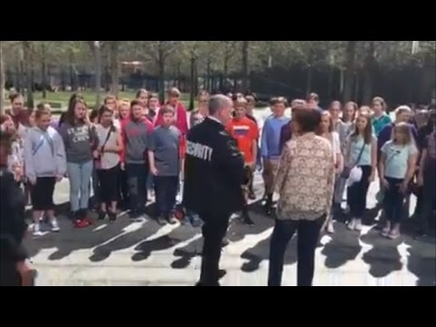School Choir Performs National Anthem Days After Being Stopped At 9/11 Memorial