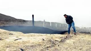 Burning Impact Crater Found Next to Highway Torreón – Saltillo, Mexico (Video)