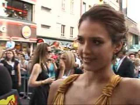Jessica Alba on Patrick Swayze Music Videos