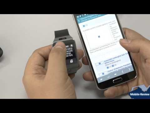 Обзор Samsung Galaxy Gear 2