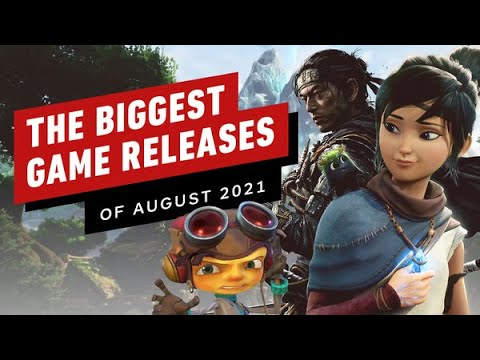 The Biggest Game Releases of August 2021