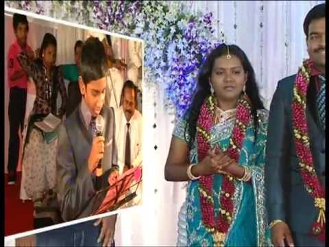 Brother's Tribute To Sister's Marriage - Preetha Weds Nikhil On 16.05.12 video