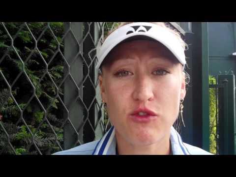 Elena Baltacha Roland Garros 1st Round Win