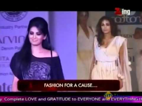 Geeta Basra & Jiah Khan On The Ramp