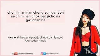 Easy Lyric JENNIE 'BLACKPINK' - SOLO by GOMAWO [Indo Sub]