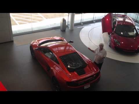 Clients Reaction To Delivery Of Her Mclaren Mp4-12c At Mclaren Greenwich miller Motorcars, Ct, Usa video