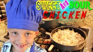Kid Size Cooking: Sweet & Sour Chicken