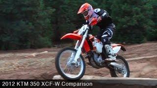 MotoUSA Comparo:  2012 KTM 350 XCF-W