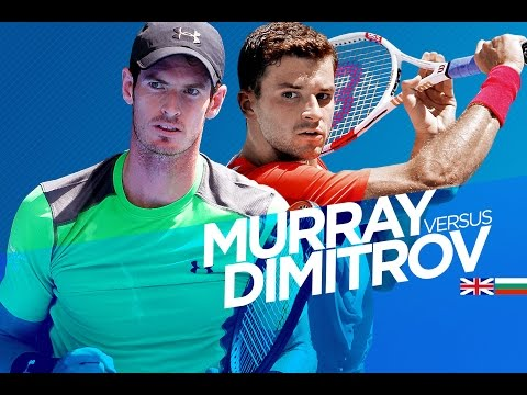 Andy Murray vs Grigor Dimitrov Highlights HD PART 1 Australian Open 2015