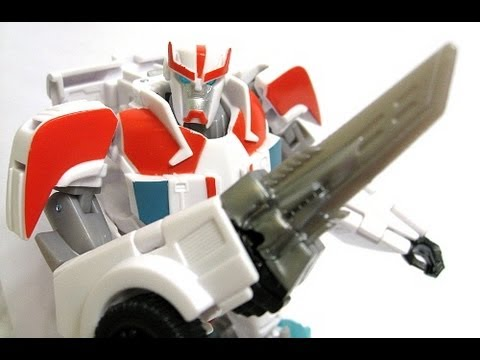 Transformers Prime RID Deluxe Ratchet Review with Special Guest ShartimusPrime!