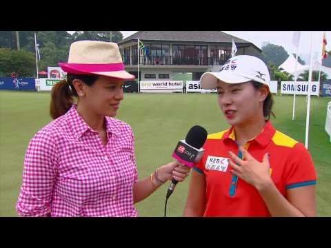 Live @ Sime Darby - Interview with Hee Young Park - Sime Darby LPGA Malaysia 2014