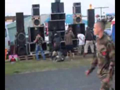 Technival angouleme champnier dj nikko fritz CCC sound system K16 free party