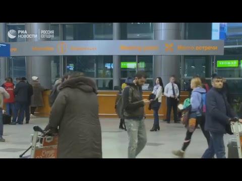 Ситуация на месте падения пассажирского самолета в Подмосковье