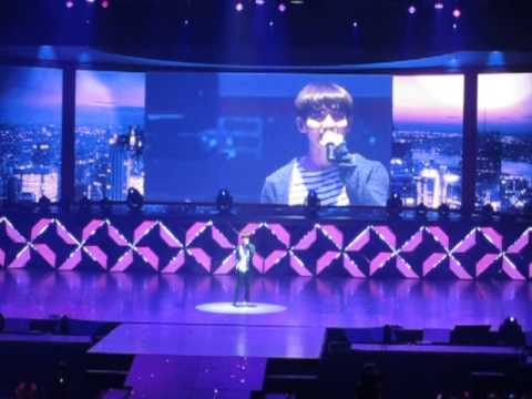 [fancam] 130518  DBSK Catch Me tour Kuala Lumpur - Changmin solo confession