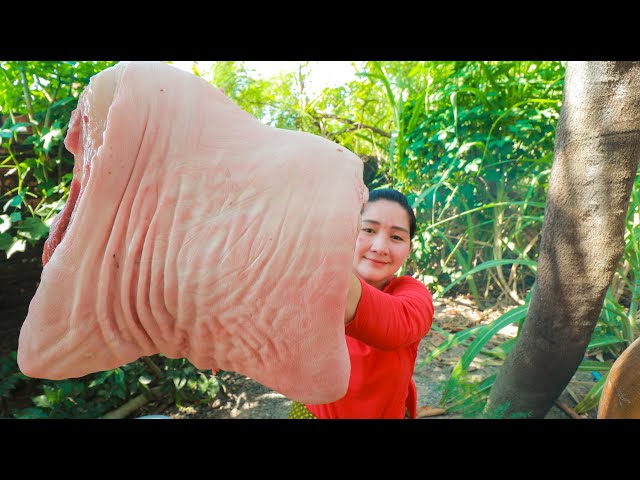 Crispy Pork Belly Cooking - Pork Belly Crispy - Cooking With Sros