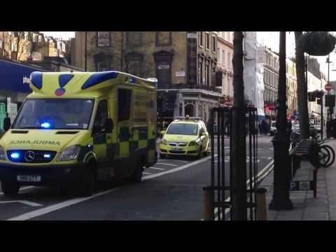 Tigis Ambulance in Central London