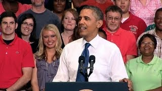 President Obama Speaks on Jumpstarting Job Growth  7/31/13