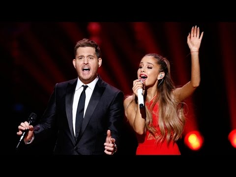 Ariana Grande Sings Last Christmas' For Michael Buble's Nbc Christmas Special video