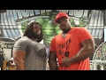 2 SCOOPS MAKES IT TOO EASY | BIG CHEST DAY | BIG ROB AND BIG HURK