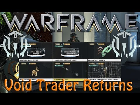 Warframe - Void Traders Returned! 58th rotation